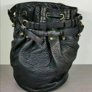Alexander Wang Diego pebbled leather bucket bag